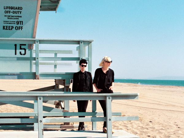 Sune Rose Wagner and Sharin Foo, of the Danish band The Raveonettes