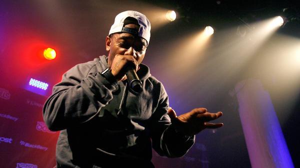 Rapper Prodigy, shown above performing in New York City, published his debut novel, <em>H.N.I.C., </em>in 2013.