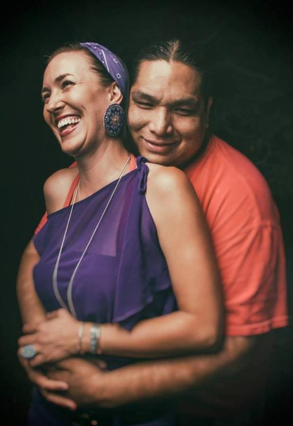 "Graphic designer Ryan Red Corn takes portraits of Natives Americans ""as they are."""