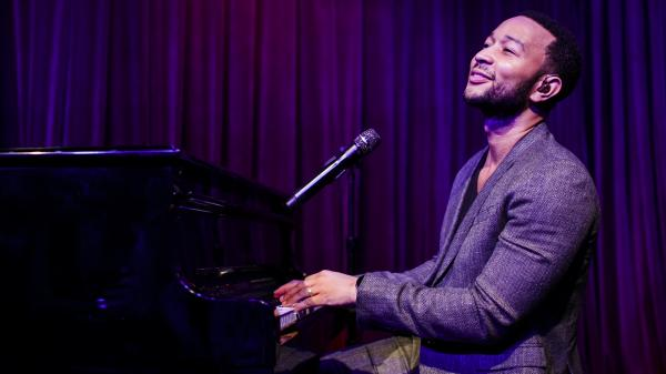 John Legend performed a special show for KCRW fans at Apogee in Santa Monica, Calif.