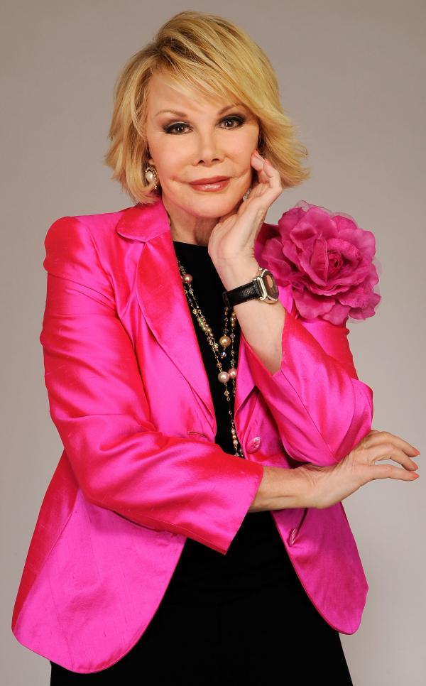Comic Joan Rivers in a portrait taken at the Tribeca Film Festival in 2010.