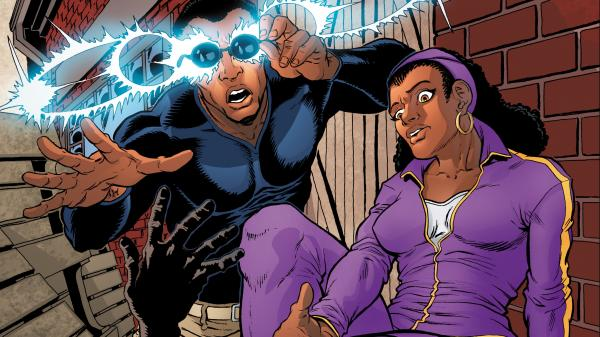 <em>Recall and Given</em> recasts the story of David Rector and Roz Alexander-Kasparik as a superhero comic.