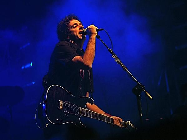 Gustavo Cerati performs in the Dominican Republic in 2007. In 2010, Cerati suffered a stroke while on tour. He was in a coma until his death on Thursday.