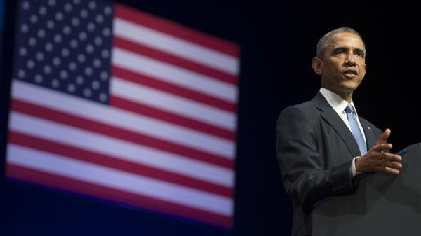 President Obama has been wary of open-ended military commitments in the Middle East. But the president, shown speaking in Estonia on Sept. 3, now appears likely to expand the current bombing campaign against the Islamic State.