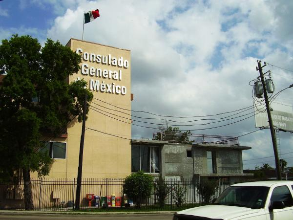 Mexican consulates, like this one in Houston, are helping some unauthorized immigrants from Mexico pay application fees for the Deferred Action for Childhood Arrivals program.