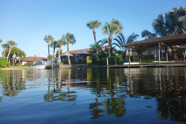Half the land in the city of Satellite Beach is only 6 feet above the waterline.