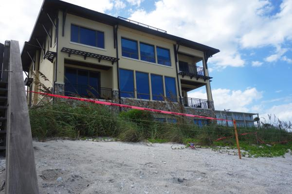 Beach erosion can no longer be ignored.