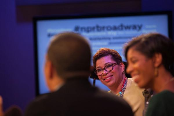 "As Friday's panel chatted on, a lively, honest and engaging conversation was also happening on Twitter. Check out <a href=""https://twitter.com/hashtag/nprbroadway"">#NPRBroadway</a> for more."