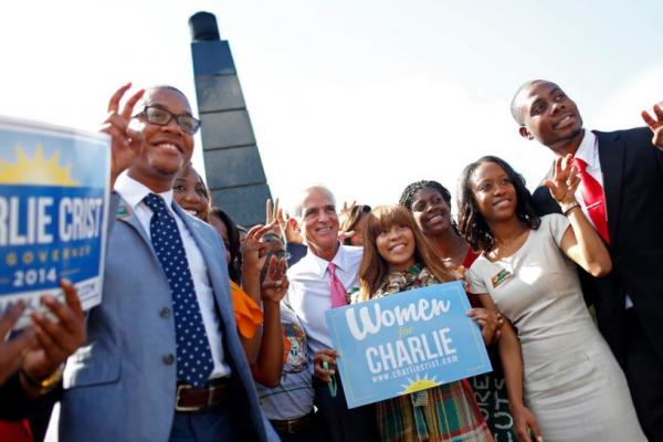 Democratic gubernatorial candidate Charlie Crist was at FAMU Tuesday for a campaign event.