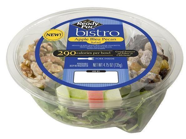 This apple-topped salad is one of several products being recalled for potential contamination with the bacteria <em>Listeria</em> <em>monocytogenes</em>