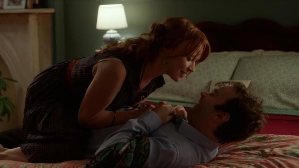 In <em>Sleepwalk With Me</em>, Mike Birbiglia, who plays a character based on himself, plays opposite Lauren Ambrose, who is his girlfriend.