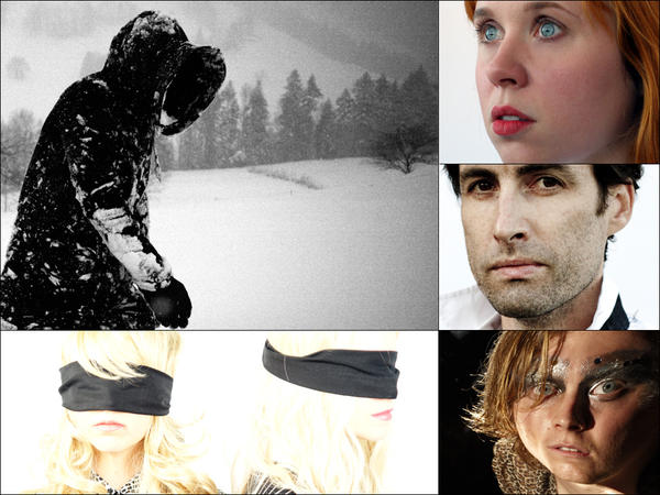 Clockwise from upper left: Pantha Du Prince, Holly Herndon, Andrew Bird, Ty Segall, Casket Girls
