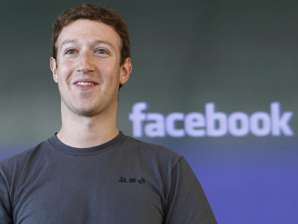 <strong>Why Is Facebook CEO Mark Zuckerberg Smiling?</strong> Maybe because someone might be willing to pay $100 to send him a message.