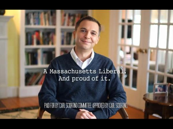 Campaign ad from Carl Sciortino, the Massachusetts Democrat running in the Oct. 15 House special election primary.
