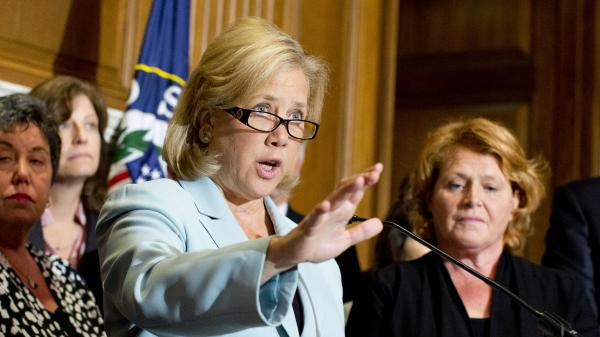 Sen. Mary Landrieu, D-La., has won some conservative supporters in her state, but her support for Obamacare is putting her re-election at risk.