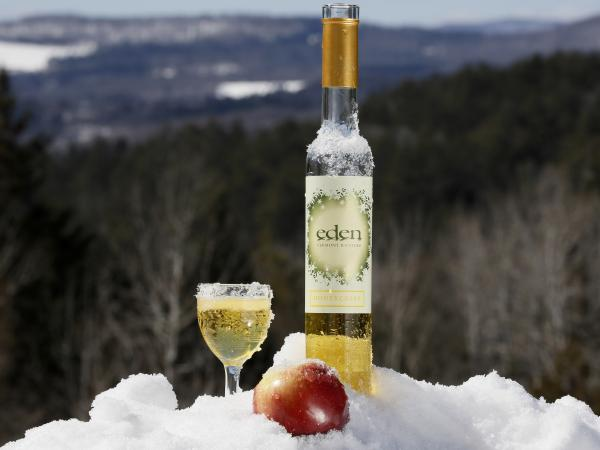 The icy winter is just what's needed for tasty ice cider.