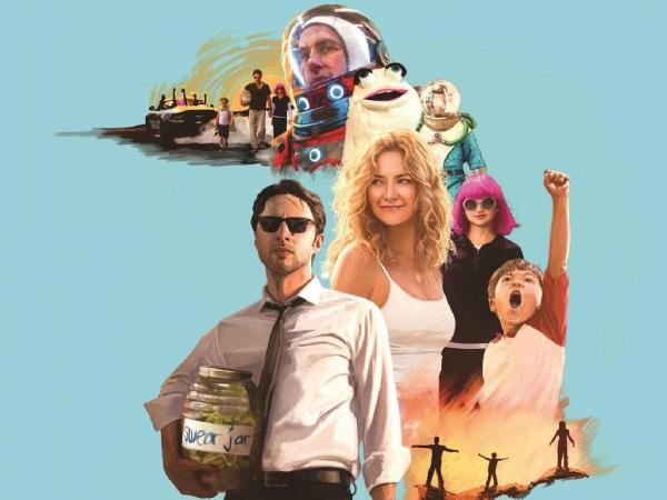 "The soundtrack album art for the film ""Wish I Was Here"""