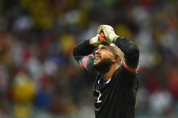 U.S. goalkeeper Tim Howard made save after spectacular save, but in the end, Belgium won the match 2-1.