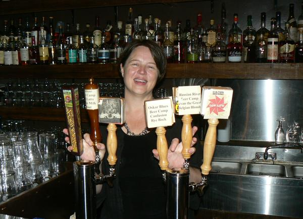 Years ago, Polly Watts overhauled the Avenue Pub's beer menu to focus on the growing popularity of craft beer.
