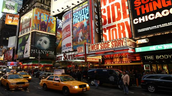 Broadway, New York City.