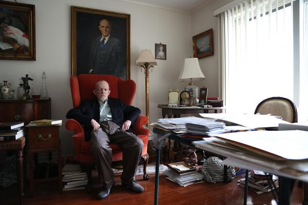 A new documentary called <em>Art & Craft</em> tells the story of notorious art forger Mark Landis (above) and the museum registrar who spent more than three years hunting him down. Landis duped more than 45 museums with his copies.