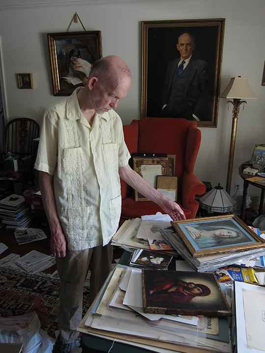 Landis was diagnosed with schizophrenia at age 17. Art fraud investigator Colette Loll believes making fakes was the way he managed his mental illness.