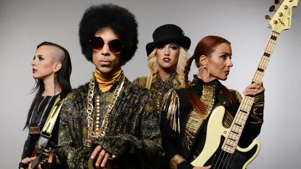 Prince has two new albums out, <em>Art Official Age </em>under his own name and <em>Plectrumelectrum </em>with 3RDEYEGIRL (pictured).