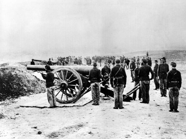 Union soldiers found that gunpowder was sometimes mixed with sawdust.