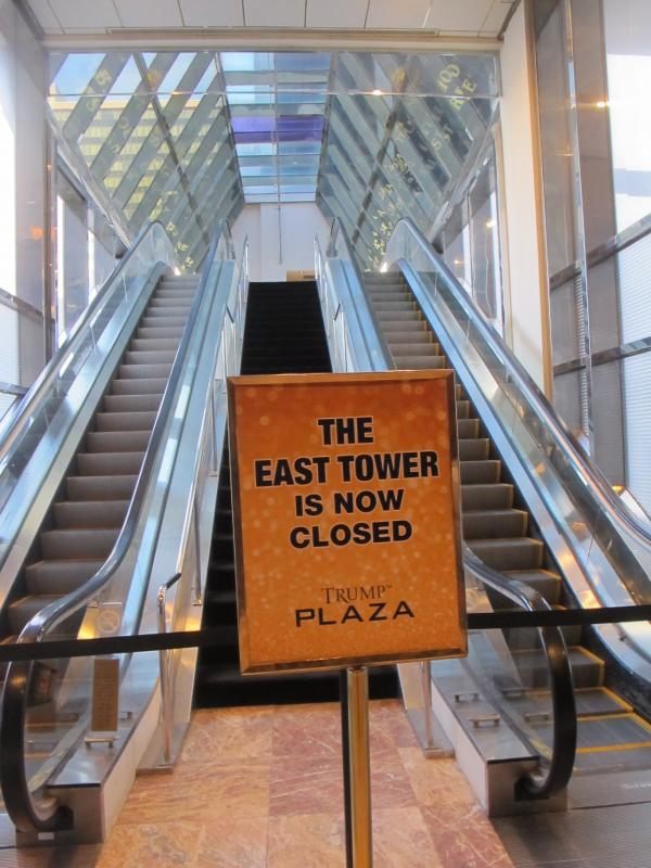 The Trump Plaza closed on Sept. 16, the fourth Atlantic City casino to go out of business this year.