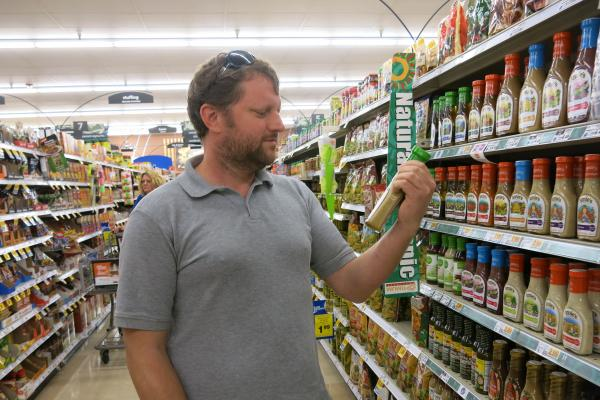 """I'm a label reader,"" says Denver resident Ben Hamilton. He sat on a citizen panel tasked with writing a report on proposition 105, which would require the labeling of foods that contain genetically modified ingredients."