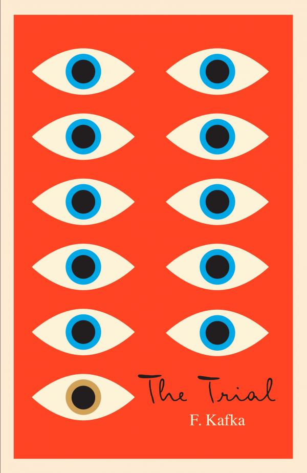 """""""Mendelsund's use of the eye as the motif for his Kafka covers can be read as illustrating the famous Kafkaesque paranoia, but I believe that is only the most obvious level on which they work,"""" says author Jane Mendelsohn. """"Each one is a poem. Look at them closely."""""""