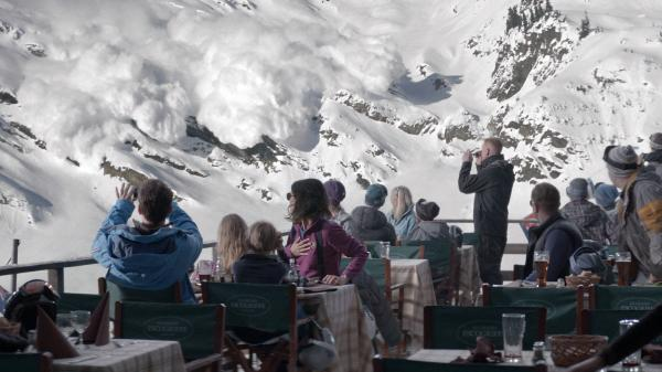 <em>Force Majeure</em> follows the aftermath of a split-second decision made by a father during an avalanche.