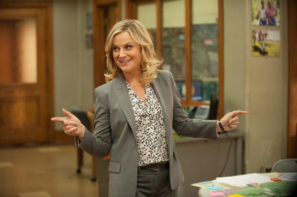 "Amy Poehler plays Leslie Knope on <em>Parks and Recreation</em>, which will air its final season next year. Poehler says, ""It's a privilege in television to be able to have a proper goodbye."""
