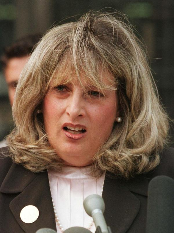 Under Wednesday's Supreme Court ruling, whistle-blowers like Linda Tripp (seen here in 1998) have few options in suing the government for damages.