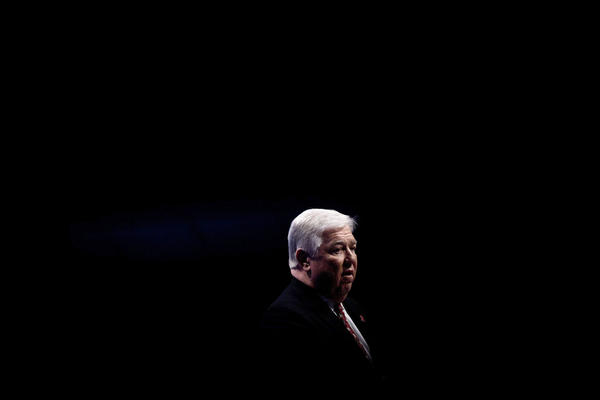 "<b>HALEY BARBOUR</b><br /><i>Announcement: April 25, 2011</i><br /><br/>The two-term Mississippi governor and former chairman of the Republican National Committee cited a lack of passion for the presidential slugfest. ""A candidate for president today is embracing a 10-year commitment to an all-consuming effort, to the virtual exclusion of all else,"" Barbour said in a statement. ""His (or her) supporters expect and deserve no less than absolute fire in the belly from their candidate. I cannot offer that with certainty, and total certainty is required."""