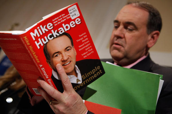 "<b>MIKE HUCKABEE</b><br /><i>Announcement: May 14, 2011</i><br /><br/>The former Arkansas governor, ordained Southern Baptist minister, winner of the 2008 Iowa caucuses and runner-up to John McCain in the ultimate delegate count that year announced on his Fox News Channel program that he wasn't running again. ""All the factors say go, but my heart says no,"" Huckabee said. ""And that's the decision that I have made."""