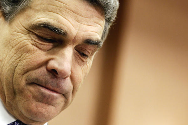 "<b>RICK PERRY</b><br /><i>Announcement: Jan. 19, 2012</i><br /><br/>Under pressure from some conservatives to throw his dwindling support to Newt Gingrich in an effort to halt the Mitt Romney train, the Texas governor did just that two days before the South Carolina primary. Declaring ""no viable path forward"" for his own campaign, Perry said:  ""I know when it's time to make a strategic retreat."""