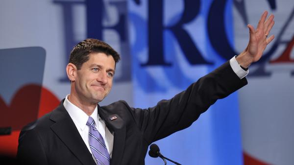 Paul Ryan addresses the Family Research Council Action Values Voter Summit in Washington, D.C., on Friday.