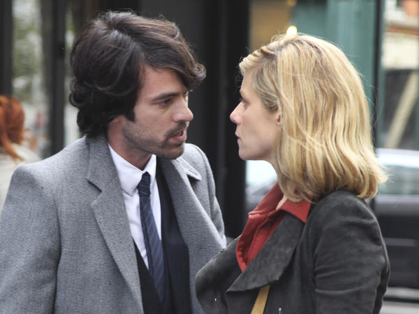 Paul and his wife, Sarah (Marina Fois), argue over the fact that she feels neglected and held back from being a writer.