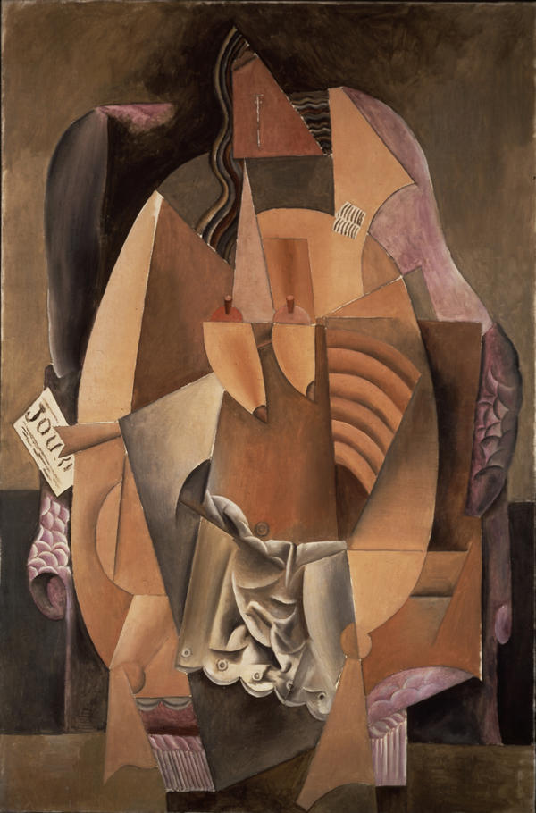 <p>Pablo Picasso's <em>Femme assise dans un fauteuil (Eva) (Woman in an Armchair) </em>1913.</p><p>Oil on canvas.</p>