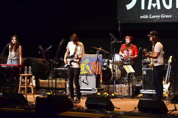 The folk-rock band Houndmouth makes its first appearance on <em>Mountain Stage</em>, recorded live on the campus of West Virginia Wesleyan College in Buckhannon.