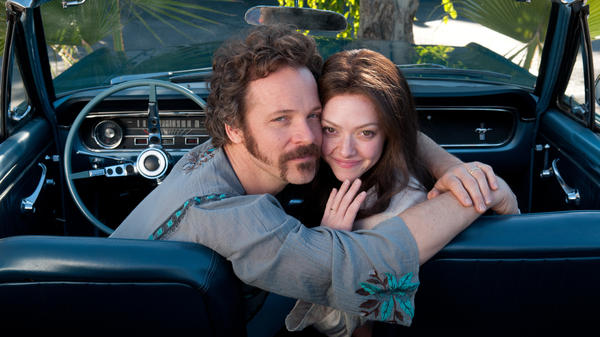 Amanda Seyfried plays girl-next-door porn star Linda Lovelace, who'd become a sensation in 1972's <em>Deep Throat</em> but later denounce her manager-husband (Peter Sarsgaard) as abusive and manipulative.