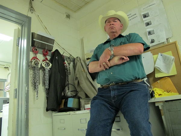 "Hudspeth County Judge Mike Doyal presided over 51 cases on a recent morning, 40 of which were federally initiated and came from the nearby Border Patrol checkpoint. If not for those busts, he said, ""We'd live in Mayberry. ... We'd just wait for the town drunk to show up once in a while."""