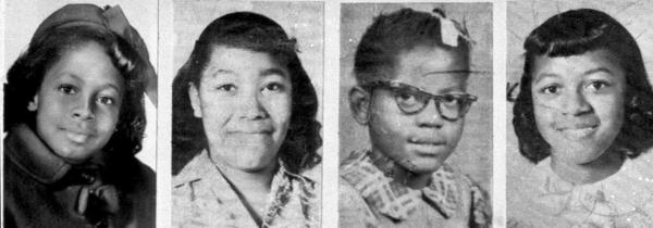 From left, Denise McNair, 11; Carole Robertson, 14; Addie Mae Collins, 14; and Cynthia Wesley, 14, were killed in the bombing of the 16th Street Baptist Church, in Birmingham, Ala., on Sept. 15, 1963.