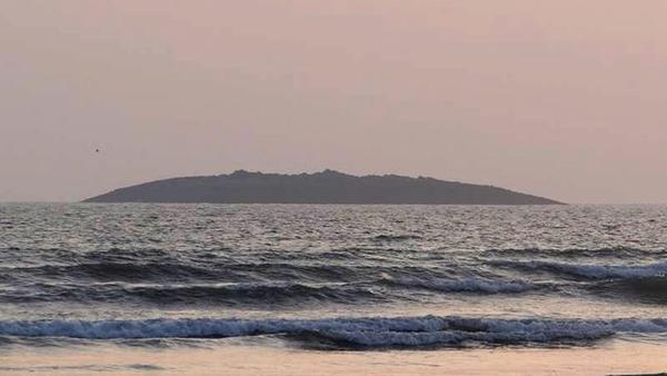 It rose from the sea: The small island that appeared off the coast of Pakistan on Tuesday after an earthquake shook the region.