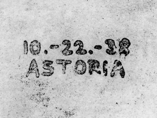 The first modern photocopy