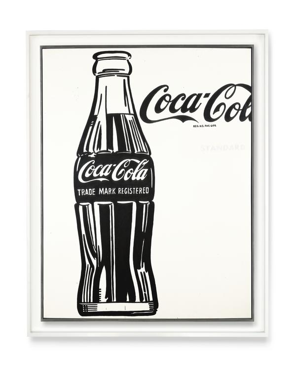 <em>Coca-Cola (3)</em> was one of many of Warhol's pop art pieces, which celebrated popular culture and consumerism in post-World War II America.