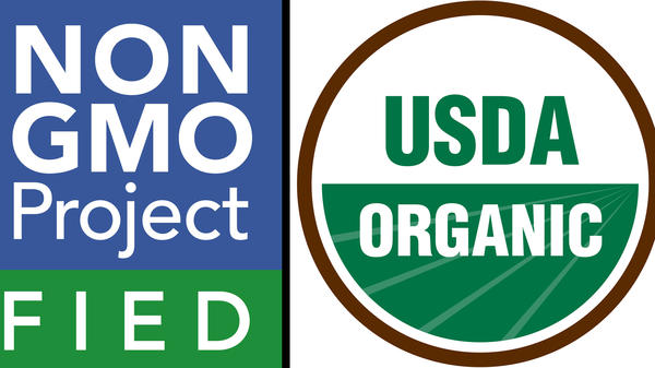 Non-GMO crops are basically grown using conventional farming techniques. Organic farming is a whole different, more expensive ballgame. But some organic farmers worry the non-GMO label blurs those lines.