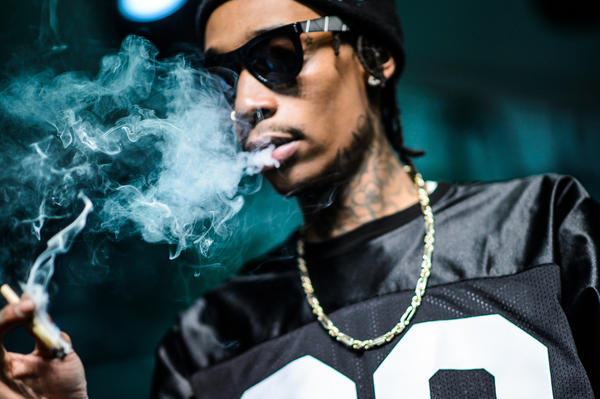 Taylor Gang and Wiz Khalifa perform at the FADER Fort during SXSW 2014.