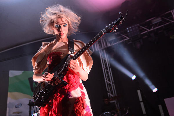 St. Vincent at the NPR Music showcase at Stubb's.